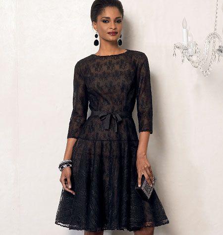 Misses' Dress and Slip