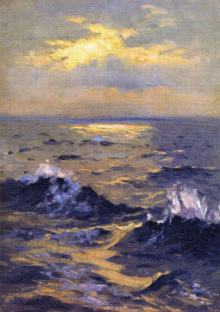 The Athenaeum - Seascape (John Singer Sargent - )