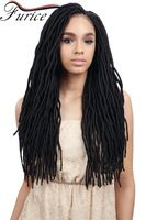 Havana Mambo Faux Locs Crochet Braids Hair Extensions Synthetic Braiding Hair…