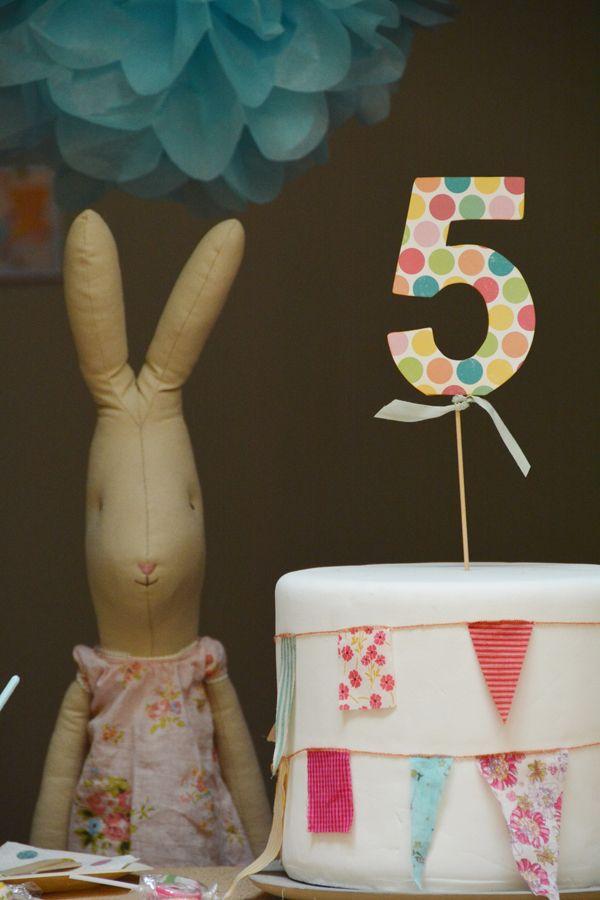 Fiesta de cumpleaños en Blaubloom (III): nuestro pastel