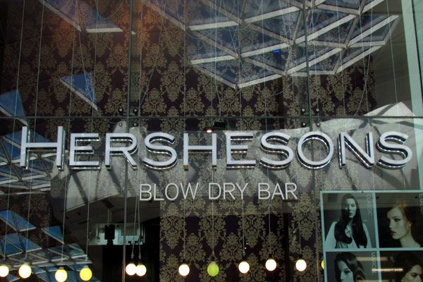 Hershesons Blow Dry Bars – London   Some Of The Best Hairdressers London  #London #hairdresser_London #Hair_Salons_London