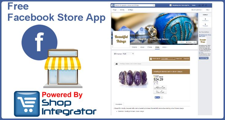 Open a Free Facebook Store to earn money from social commerce today. Your website store and Facebook store products are managed from the same store admin giving you centralized order management and product stock quantity control across both platforms.