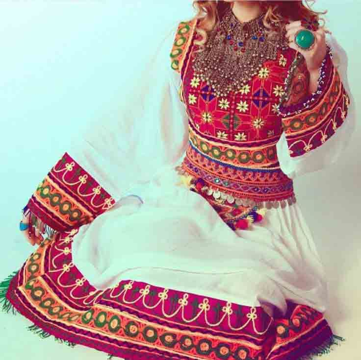 Best Pakistani Pathani Frock Designs For 2019 Afghan