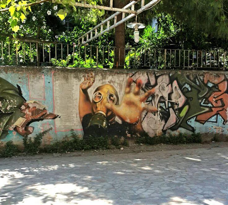 Street art.. sokak sanatçıları.. Kadıköy Carşı