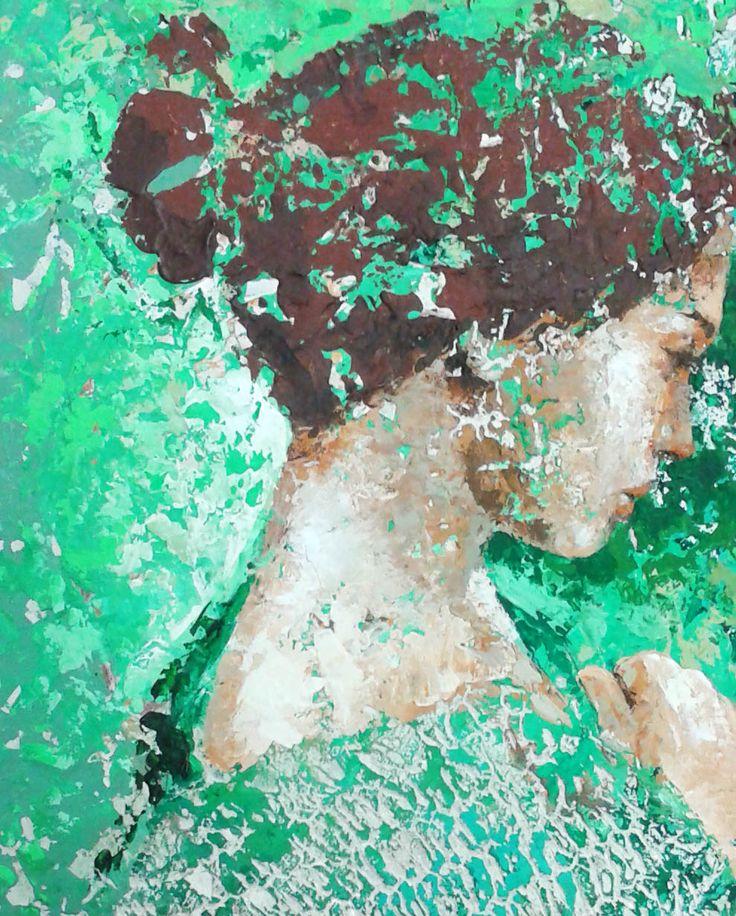 Romina Manoli. Profumo di primavera - detail