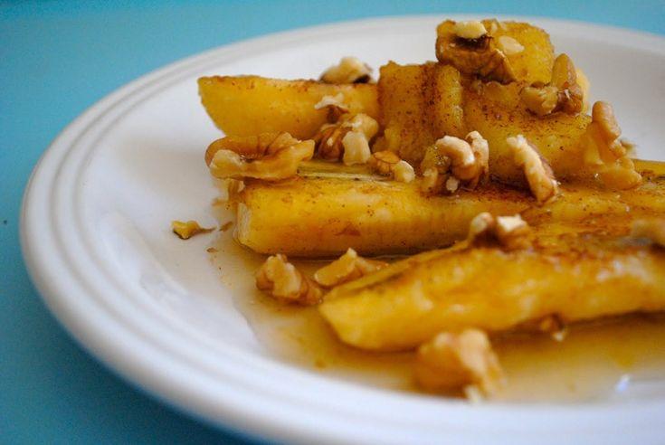 Бананы жареные с сыром