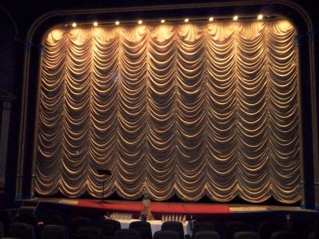 austrian curtain fabric flame