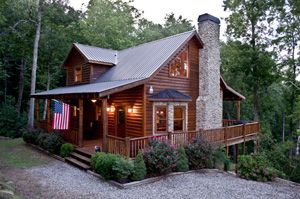 17 best images about log cabins on pinterest vacation homes for rent ea and log cabin rentals - Small log houses dream vacations wild ...