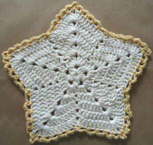 Christmas Star Crochet Dishcloth – Maggie Weldon Maggies Crochet Tutorial ☼ Teresa Restegui http://www.pinterest.com/teretegui/☼