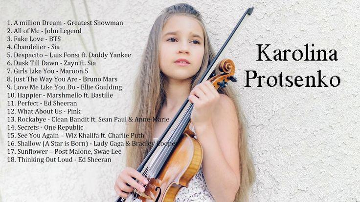 Karolina protsenko violin cover songs nonstop playlist
