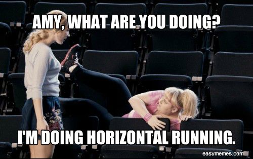 Pitch Perfect Meme - Fat Amy Horizontal Running Picture