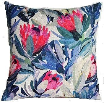 Cushion Cover - Tropical Protea Flower