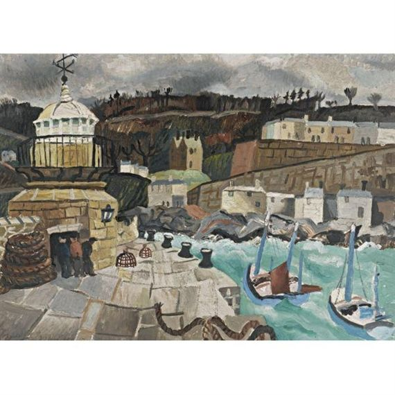 St Ives, Cornwall (1928) by Christopher Wood