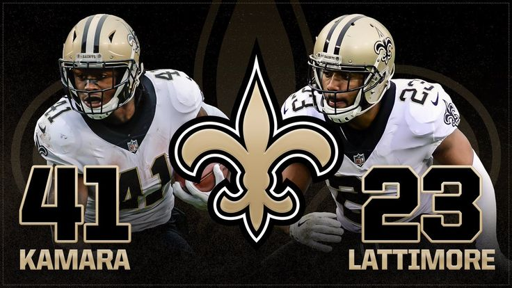 Through 8 games, Marshon Lattimore and Alvin Kamara have combined for 4 @NFL Rookie of the Week awards. WhoDat!!