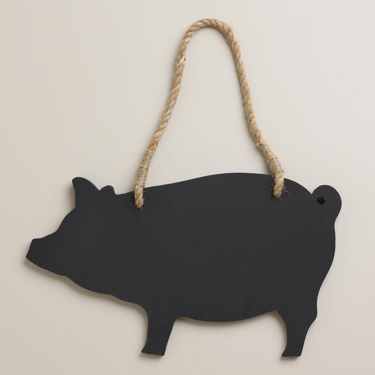 Pig Chalkboard. Pig Kitchen DecorKitchen ...