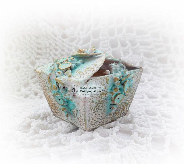 Scrap Shop: Pudełeczko na biżuterię