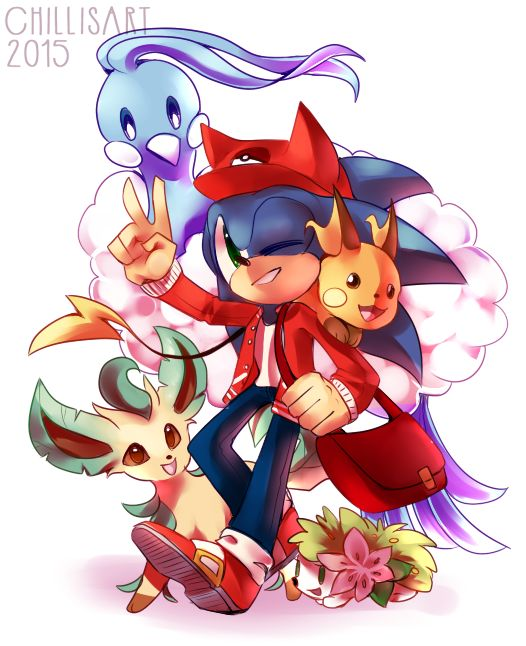 250 best images about sonic the hedgehog on pinterest - Shadow the hedgehog pokemon ...