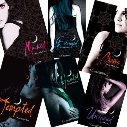PC & Kristin Cast - House of Night Novels - Soooo good!