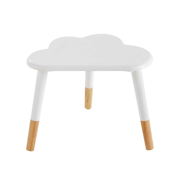 fabulous rain drops bedside tables cloud rainbow nursery wood homes children accessories from. Black Bedroom Furniture Sets. Home Design Ideas