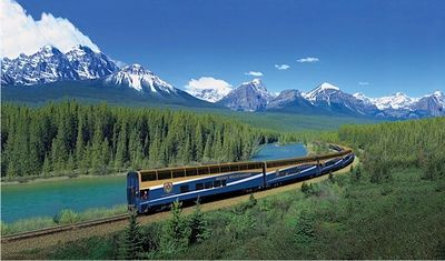Rocky Mountaineer, a Bucket-List Luxury Train through the Canadian Rockies http://luxurytravel.about.com/od/cruisesandtrains/ss/Rocky-Mountaineer-Train-Canadian-Rockies.htm