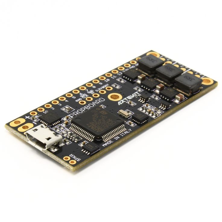 The PropBoard is a development board specifically designed for handheld, small prop applications. Powered by a Cortex M4 microprocessor with FPU and DSP instructions running at 84MHz, the PropBoard has everything you needto create motion-driven sound/light effects prop projects. Use it as a sound board for alightsaber prop, or to power-up your cosplay, or createamazing toys. You probably already have all the skills needed to start developing your props today, because the board can be ...