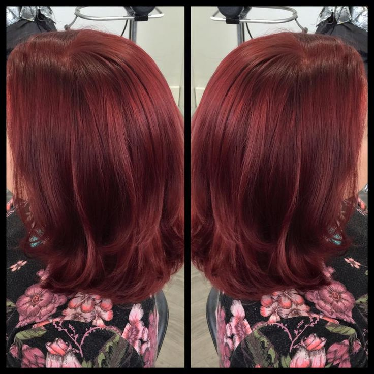 Red never looked so great with ruby toned goldwell eliminated reds is the way to go. With the eliminated reds expect for the shine to be turned up and tones to dazzle