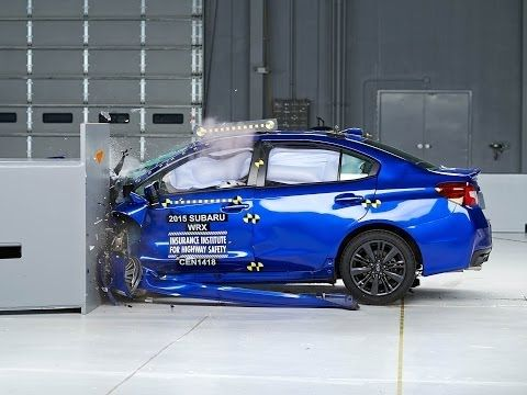 The 2015 Subaru WRX and WRX STI earned the 2014 Top Safety Pick award from the Insurance Institute for Highway Safety.