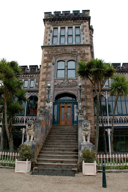 Larnach Castle, Dunedin, New Zealand - a spooky place with a tragic past