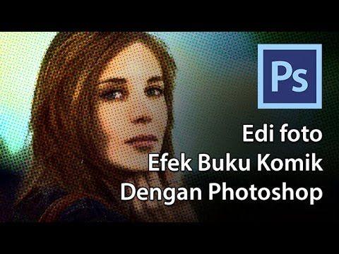 Modify foto efek buku komik - http://psdesain.net/edit-foto-efek-buku-komik.html