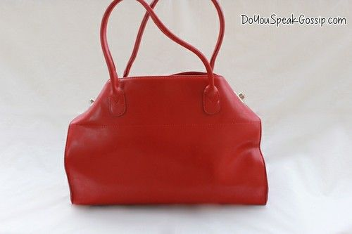 Red office bag (second hand) FOR SALE ON MY SHOP. Click on the picture to see more photos and details and shop it now! doyouspeakgossip.tictail.com