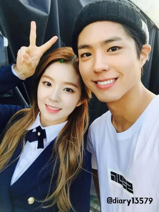 bo-gum and irene
