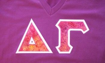 Shop Greek Letter Shirts from Designer Greek - Sorority Letters & Fraternity Letters