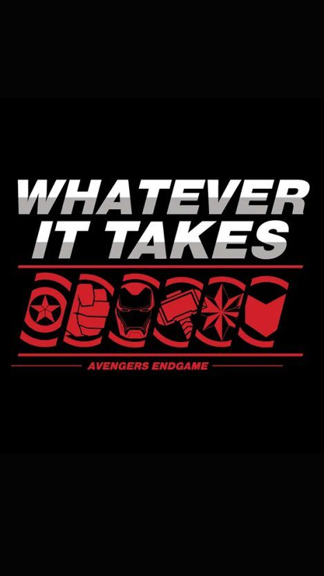 Avengers Whatever it Takes iPhone Wallpaper