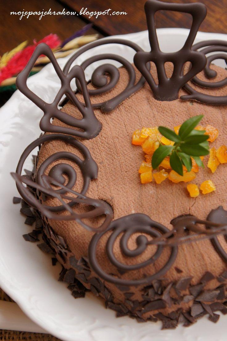 Pascha czekoladowo-pomarańczowa