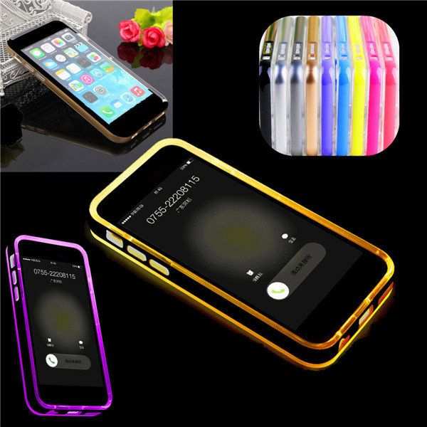 Incoming Call LED Flash Light Case For iPhone 6 6s…