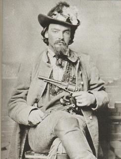 """William """"Bloody Bill"""" Anderson: Born in late 1830 and died October 26, 1864, killed in Missouri in a Union ambush. Anderson joined an antislavery, pro-Union band of guerrillas known as """"Jayhawkers."""" He soon switched sides and joined a band of pro-Confederate """"Bushwhackers."""" In the partisan warfare of Kansas and Missouri, these groups were often more interested in robbery, looting, and personal gain than advancement of a political cause."""