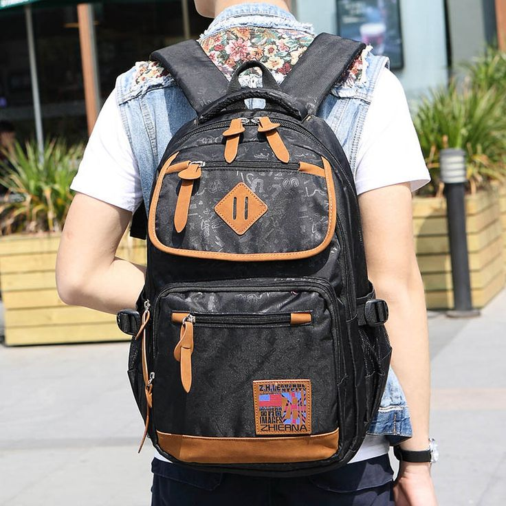 Male Backpack High Quality Youth Male Backpack Fashion Teenager Backpacks for Teen Girls Boys Teenagers for Sac A Dos Femme Boy