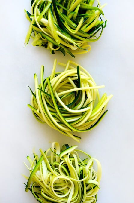 How to Make Zucchini Noodles without a Spiralizer