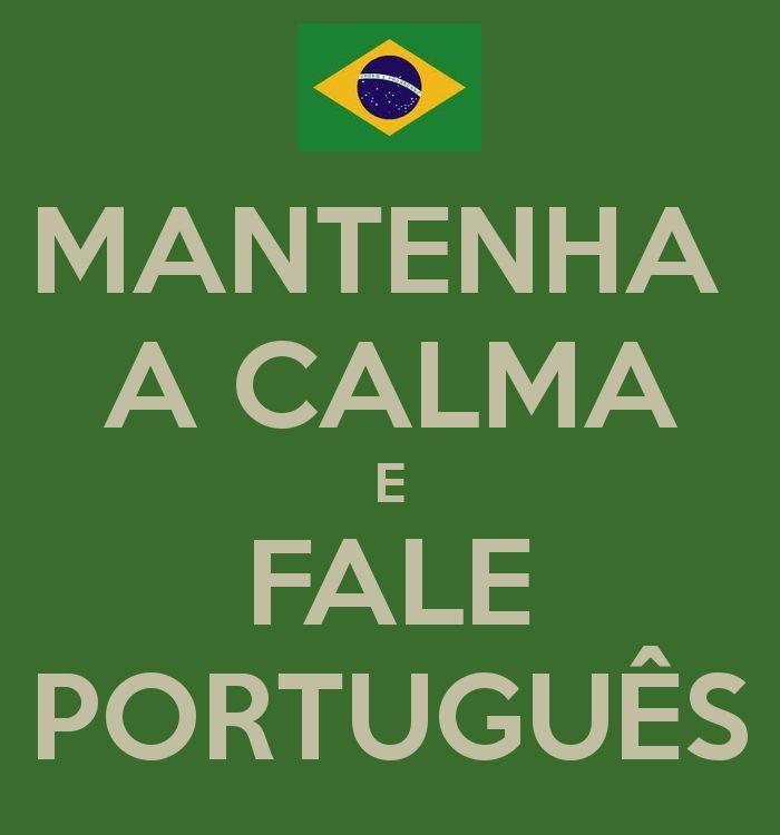 Fale português #Brazil #portuguese