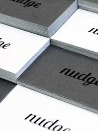 Nudge Collateral Design | Nudge | Charleston SC Graphic