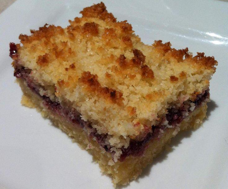 Easy Raspberry & Coconut Slice by AMellow on www.recipecommunity.com.au