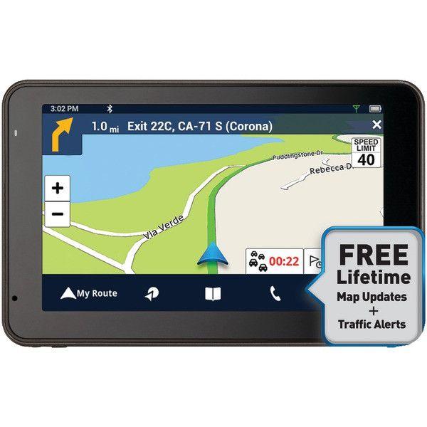 "Magellan RM5465SGLUC RoadMate 5465T-LMB 5"" GPS Device with Bluetooth & Free Lifetime Maps & Traffic Updates"