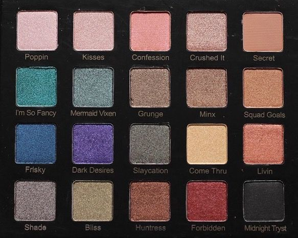 """XOXO: Violet Voss """"Drenched Metal"""" Eyeshadow Palette"""