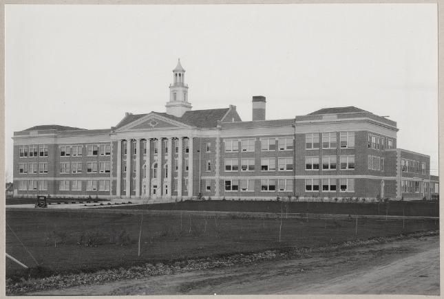 Fort Collins High School (exact duplicate). 1926. UHPC, University Archive, Archives and Special Collections, CSU, Fort Collins, CO
