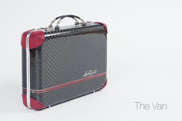 Kay Rigatto 24h briefcase. Carbon fiber totally handmade
