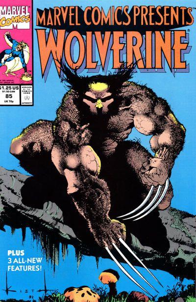 Marvel Comics Presents # 85 by Sam Kieth