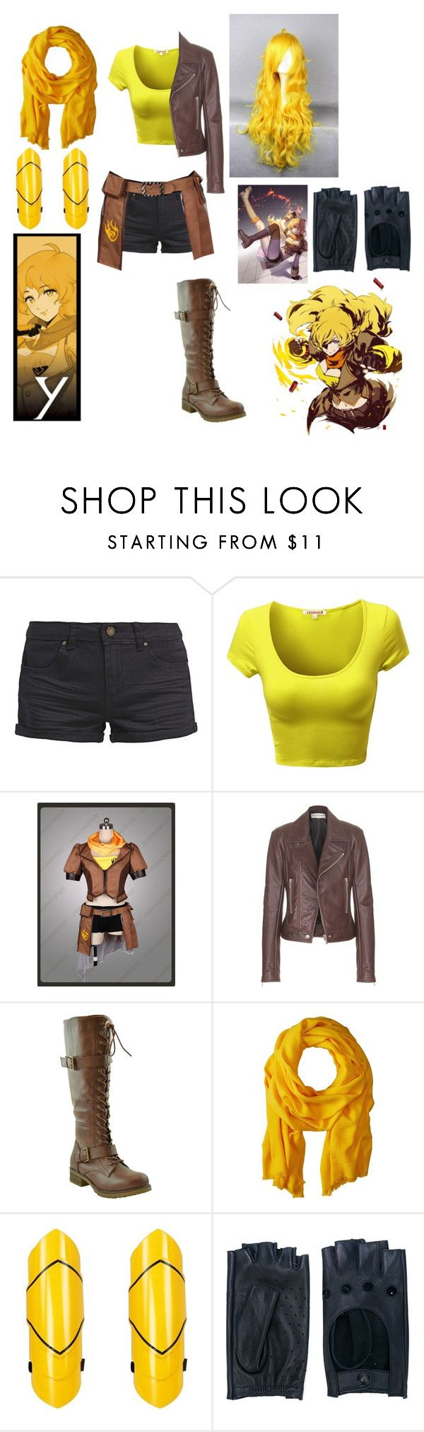 """RWBY Yang Xiao Long Casual Cosplay"" by chibi-shinigami ❤ liked on Polyvore featuring TWINTIP, Balenciaga, Love Quotes Scarves, Zanellato, CasualCosplay, yang, RWBY and yangxiaolong"