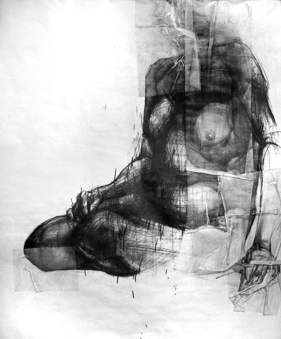 Pretty darn exciting life drawings, very exciting way of seeing. Who says when a drawing is finished?