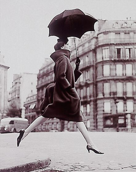1950's Paris Parijs in de jaren 50.