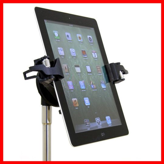 AirTurn Manos is a universal tablet mount which is capable of securely holding any tablet. Manos fits minis and tablets up to 21.59cm wide – with or without a case. Conveniently, it can easily be rotated through 360 degrees and titled to any viewing angle. $69 -better prices for schools & students. #AirTurn #Manos #tablet #mount http://www.musiclab.com.au/product-info/airturn-manos-universal-mount-for-tablets/